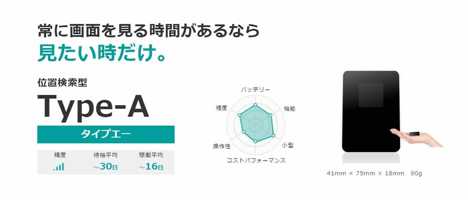 GPS追跡リアルタイム【Type-A】