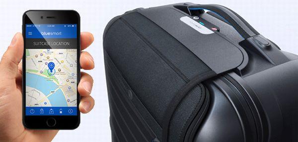 GPS追跡可能でスマホ連携するスーツケースが発売