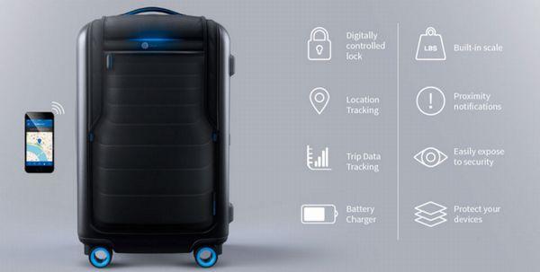 GPS追跡付スーツケースの機能