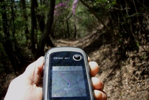 GPS追跡登山トップ