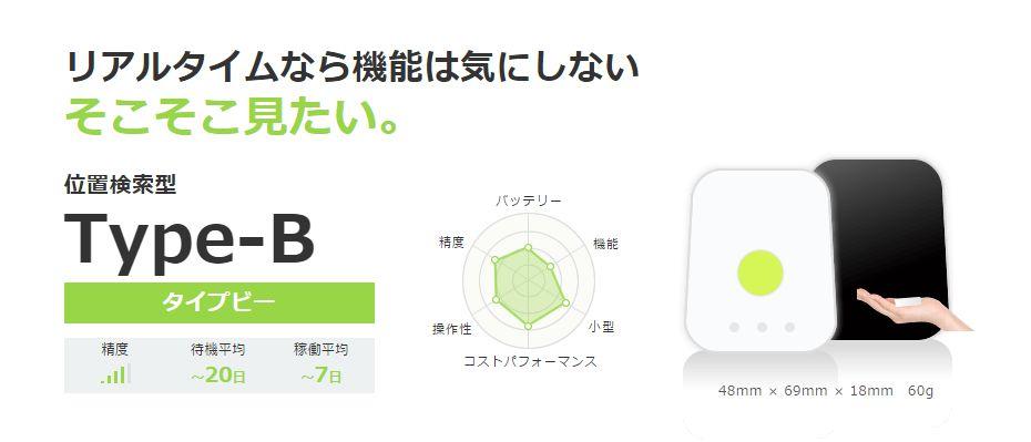 GPS追跡リアルタイム【Type-B】