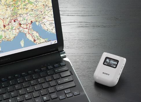 自動追跡GPSを使って